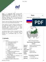Rusia - EcuRed