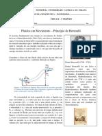 Fluidos - Princípio de Bernoulli