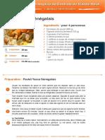 Le Poulet Yassa Senegalais