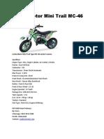 Lenka Motor Mini Trail MC-46