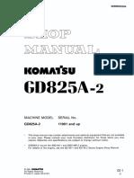 07 GD825A-2 Shop Manual