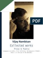 Vijay Nambisan - Collected Works