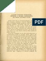 Alguns escritos apocrifos de Antonio Vieira