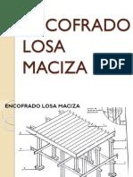 ENCOFRADO DE LOSA