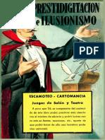 Prestidigitación e Ilusionismo