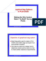 Graphical Sag Options