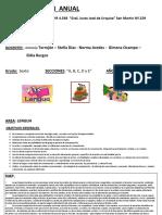 Planificación Anual de Lengua 2.017