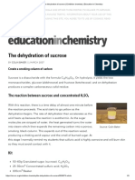 The Dehydration of Sucrose _ Exhibition Chemistry _ Education in Chemistry