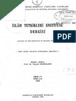 Anadolunun Etnik Yapısında Oğuz Türkmen Yörük Üçlüsü