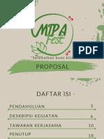 Proposal Mipa Fest