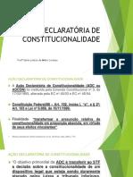 7 Ação Declaratória de Constitucionalidade