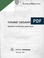 Indreptar de Laborator Chimie Organica