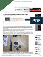 Cómo Montar Una Impresora 3D Casera _ Prusa i3