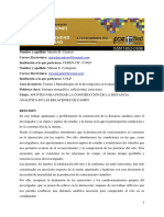 Macontigiani-cardozodistancia Analítica en Las Relaciones de Campo