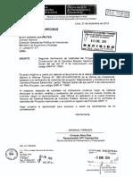Segunda Verificación de Viabilidad del PIP. Mejormaiento y Construción de la Carretera Reposo Saramiriza, Sector Reposo Duran del Eje Vial Nº 4 de Interconexión vial Perú-Ecuador.
