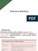 Síndrome nefrotico y GN PRIMARIAS