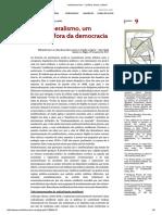 Dardot e Laval - O Neoliberalismo, Um Sistema Fora Da Democracia