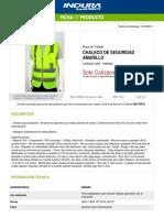 1393000-Chaleco de Seguridad Amarillo