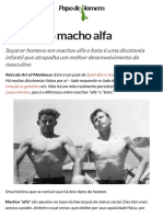 O Mito Do Macho Alfa – PapodeHomem