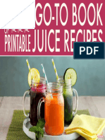 Just Juice Printable Juice Recipes