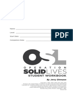 Operation Solid Lives Workbook