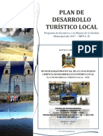 PLAN DE DESARROLLO TURISTICO LOCAL - PUQUIO
