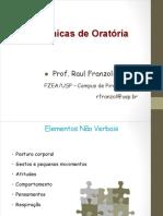 ATOR2013_Tecnicas de Oratoria