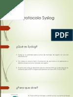 Protocolo Syslog