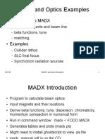 MADX Tutorial