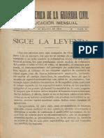 Revista Técnica de La Guardia Civil. 31-3-1914, No. 51