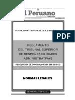 Reglamento Tribunal de Honor Contraloria