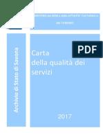 Carta Dei Servizi 2017
