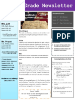 week 6 newsletter