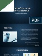 La Robótica en Fisioterapia