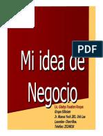 Idea Negocio