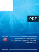 UEFA International Development Tournaments Guidelines 2015 Final