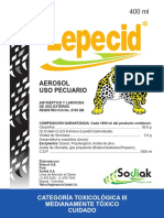 Lepecid Ficha Tecnica