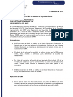 Folio 6. Aplicación de La UMA en Materia de Seguridad Social.
