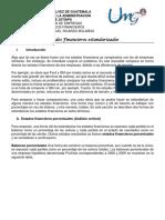 6. Estados Financieros Estandarizados