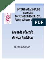 01_Lineas de Influencia_Vigas Isostaticas