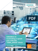SINAMICS SPEED G120 PROFINET