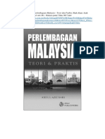 Perlembagaan Malaysia - Teori Dan Praktis