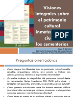 Pánel Visiones Integrales Sobre El Patrimonio - Diego Bernal
