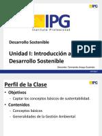 Sustentabilidad - Unidad I - PPT1