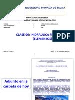 15092017 CLASE 6 EH Hidraulica Fluvial Elementos