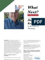 P Kotler Interview