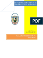 Plan de Arbitrios UPNFM