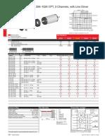 Maxon Datasheet Encoder