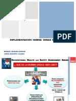 Charla OHSAS - Auditoria- Todos