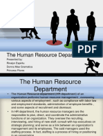 ppt about the human resource management